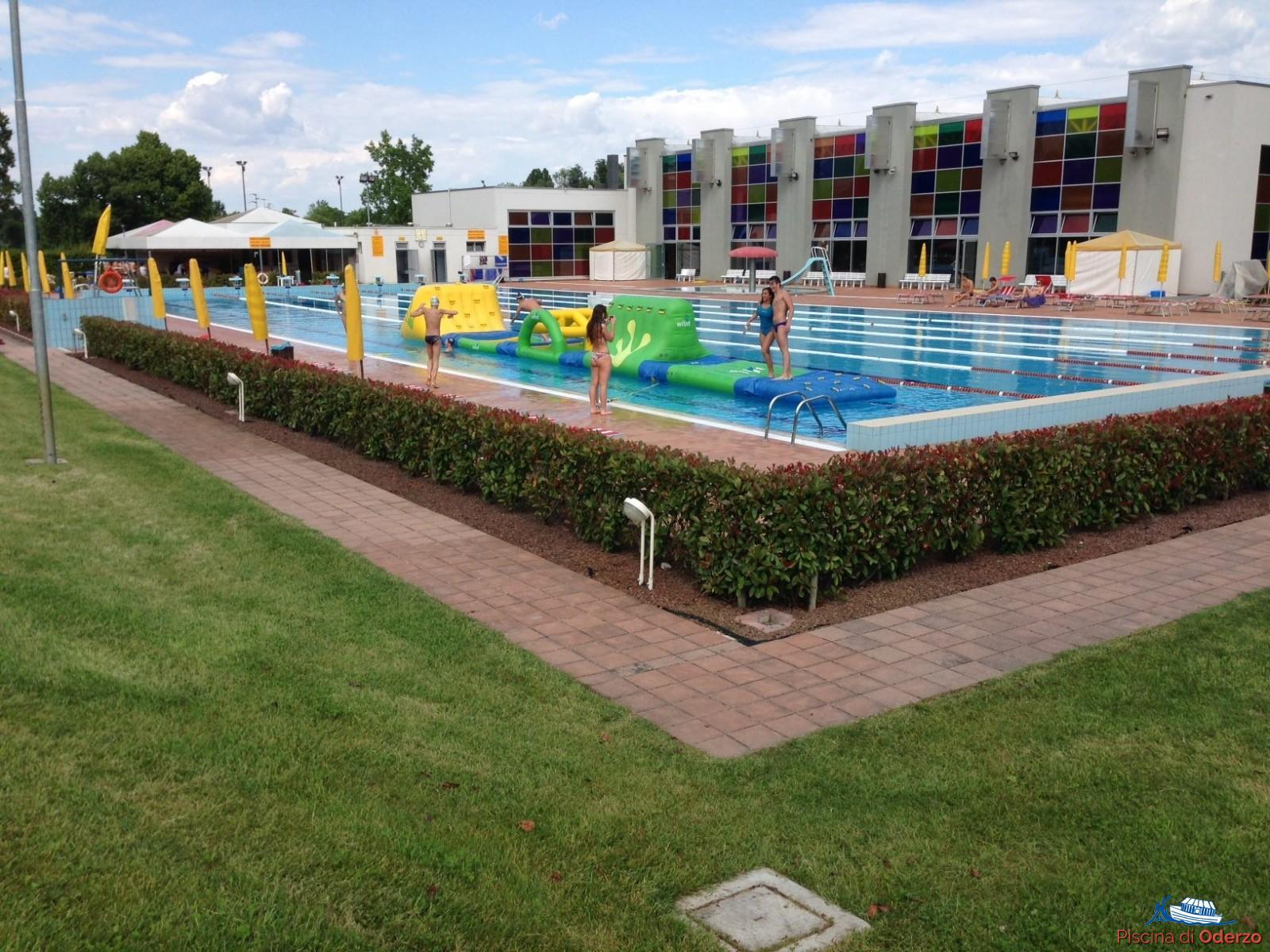 Vasca Da 25 Metri Tempi : Vasche ed impianto sportivo piscina di oderzo